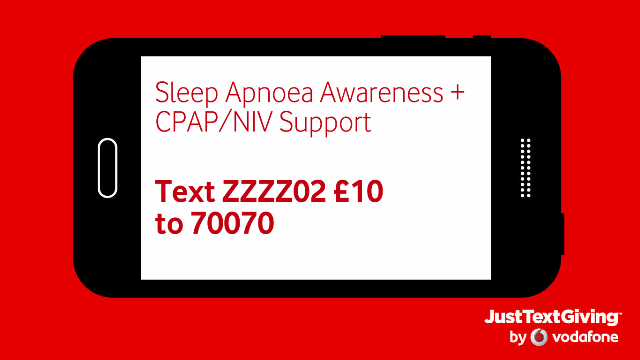 Text ZZZZ02 to 70070 for £10 Donation