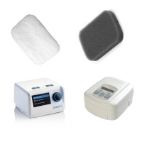 SleepCube (IntelliPAP) + DeVilbiss Blue CPAP Filters