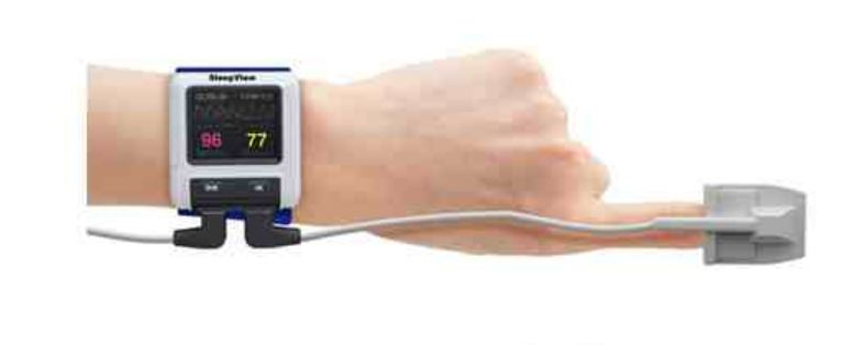 Finger  Pulse Oximetry Home Screening Test