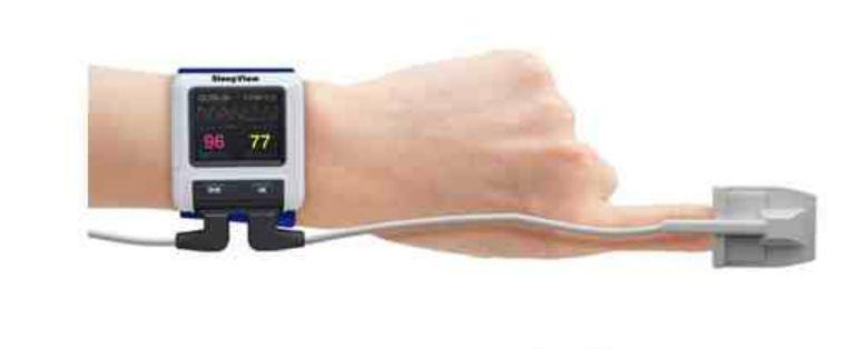 Finger Pulse Oximetry Home Screening Test - Hope 2 Sleep