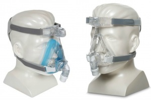 Amara Gel or Silicone Full Face CPAP Mask