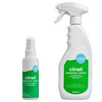 Clinell Universal Cleaning and Disinfectant Spray