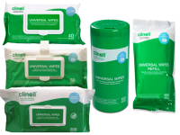 Clinell Universal Cleaning and Disinfectant Wipes