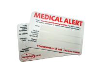 Medical Alert Card for Sleep Apnoea + Sleep Disordered Breathing